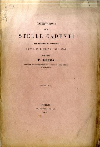 <strong>Osservazioni dellestelle cadenti</strong>