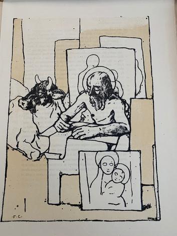 IL VANGELO: secondo MATTEO nella versione di Nicola Lisi. - MARCO nella versione di Corrado Alvaro. - LUCA nella versione di Diego Valeri. - GIOVANNI nella versione di Massimo Bontempelli, Litografie di FELICE CASORATI.