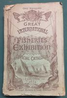 <strong>Great International Fisheries Exhibition 1833. Official Catalogue. </strong>First edition.