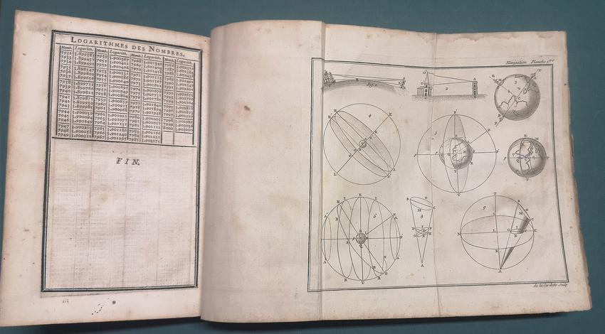 <strong>Suite du cours de Mathématiques, a l'usage des gardes du Pavillon et de la Marine; contenant le traité de Nauigation par M. Bézout.</strong>