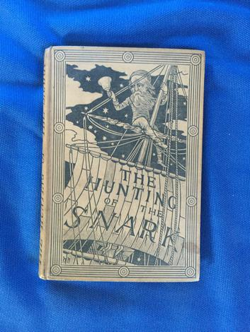 The Hunting of the Snark an Agony in Eight Fits. With nine illustrations by Henry Holiday.
