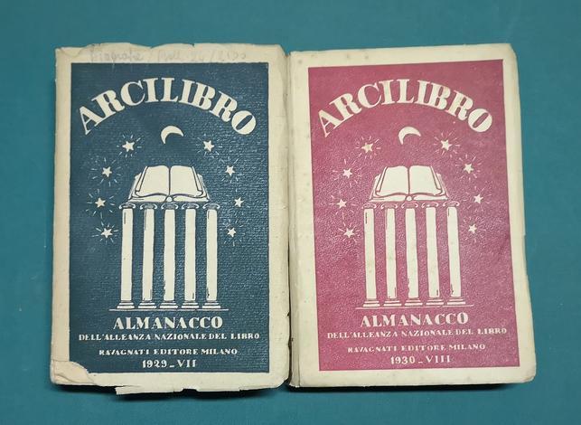 <strong>Almanacco dell'Alleanza Nazionale del Libro.</strong>