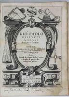 Della fabrica et uso di diversi Stromenti di Astronomia, et Cosmografia,