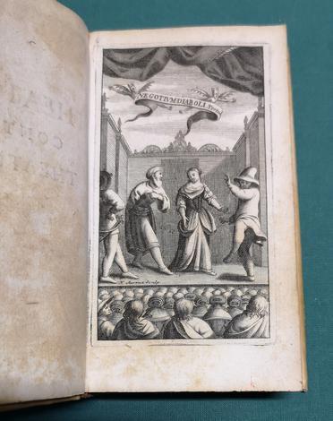 <strong>Comoedio-crisis sive Theatri contra Theatrum Censura.</strong>Coelestium, terrestrium, & infernorum linguis, continuatis ab orbe condito saeculis, firmata.