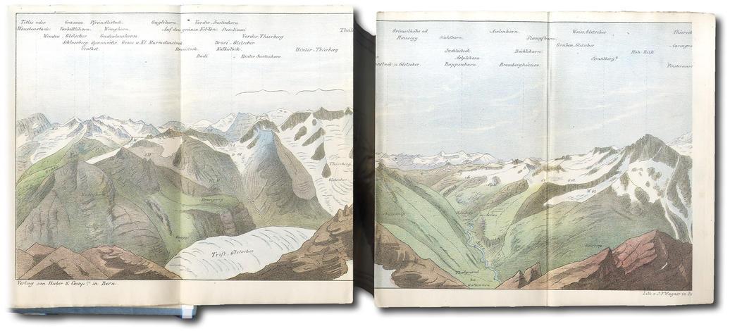 <strong>Topographische Mittheilungen aus dem Alpengebirge.</strong>