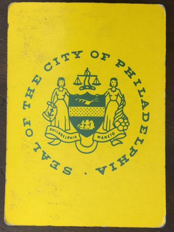 Seal of the city of Philadelphia.