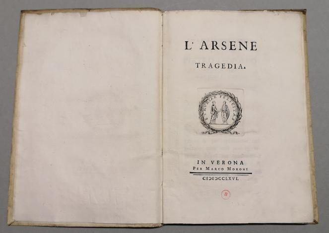 <strong>L'Arsene. Tragedia.</strong>