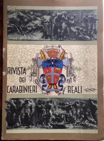 <strong>Rivista dei carabinieri Reali. Rassegna di studi militari e professionali.</strong><strong>1936 Annata Completa.</strong>