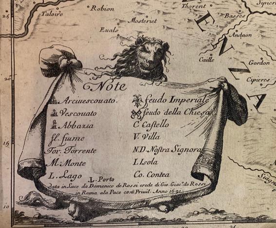 <strong>Il Piemonte, sotto il nome del quale vengono compresiil Ducato d'Aosta, Principato di Piemonte, la Signoria di Vercelli, il Marchesato di Susa e di Saluzzo,</strong> l CONTEA D'Asti e il Canavese.