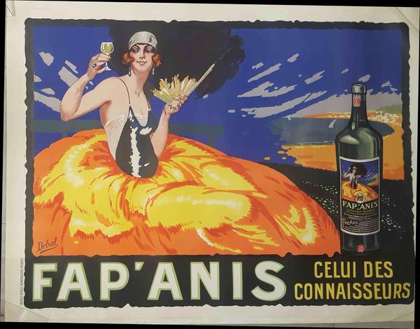 AFFICHE ORIGINALE- FAP' ANIS