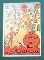 <strong>Le avventure del Barone di Munchausen.</strong>Riduzione per Bambini Illustrata da W. Boris.
