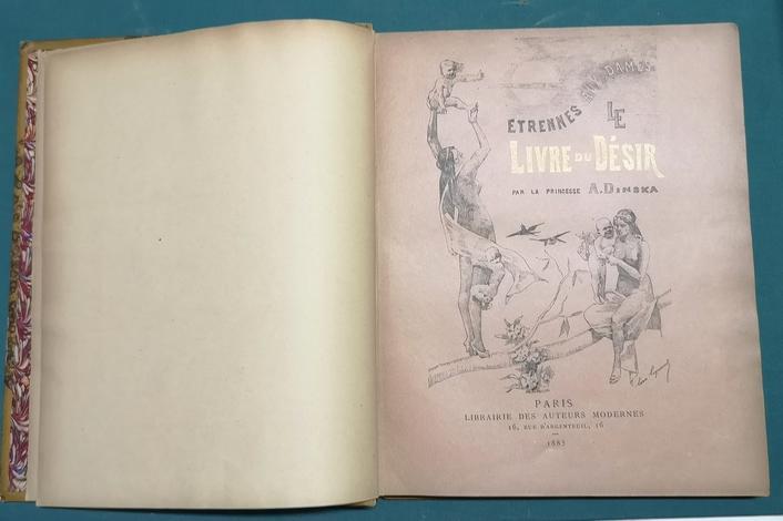 <strong>Étrennes aux dames. Le Livre du désir.</strong>