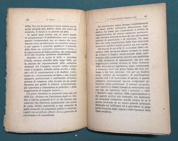 <strong>Il Parlamento Sindacale.</strong> Prefazione di Filippo Turati.