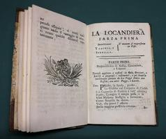 <strong>Componimenti Teatrali,</strong>publicati da Vincenzo Pazzini Carli mercante di libri in Siena.