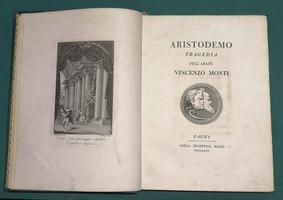 <strong>Aristodemo. Tragedia dell'abate V. Monti.</strong>