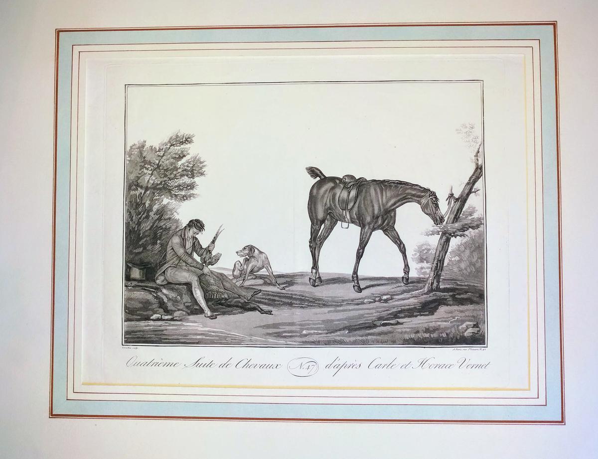 <strong>Quatrième suite de chevaux d'après Carle et Horace Vernet</strong>