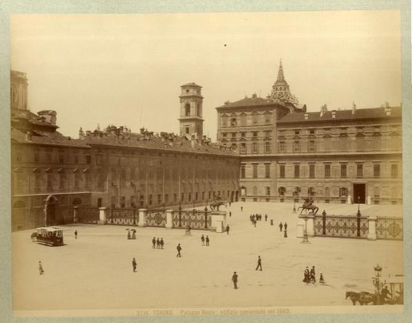 TORINO - Palazzo Reale e palazzo Chiablese.
