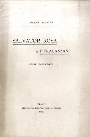 Salvator Rosa ed i Fracanzani