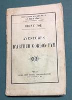 <strong>Aventures d'Arthur Gordon Pym.</strong>