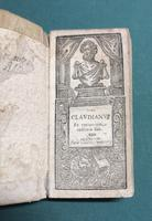 <strong>Cl. Claudianu ex optimorum codicum fide.</strong>
