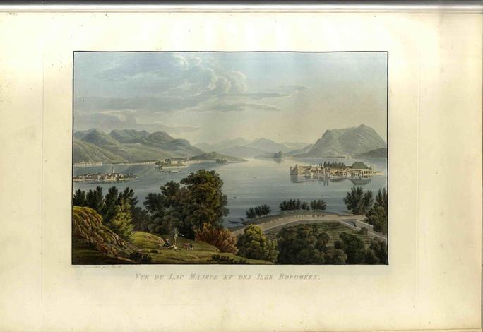 Voyage pittoresque de Genève à Milan.