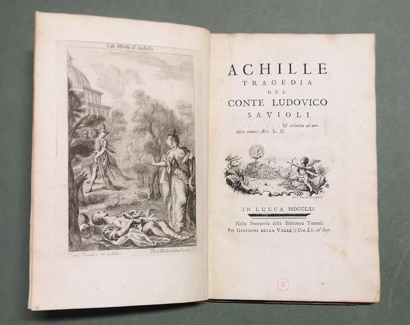 <strong>Achille, tragedia del conte L.S.</strong>
