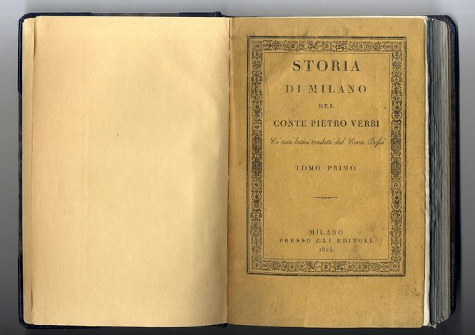 <strong>Storia di Milano.</strong>