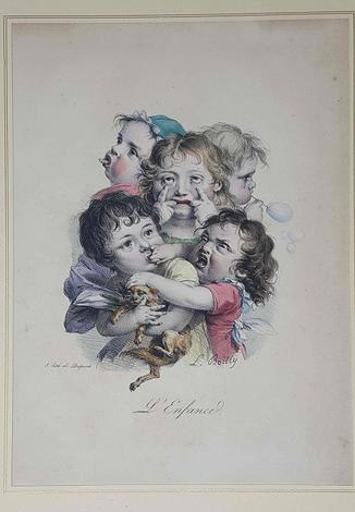 <strong>L'enfance.</strong>