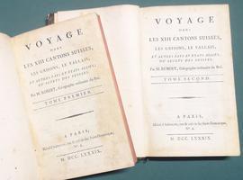 <strong>Voyage dans le XIII Cantons Suisses, les Grisons, Le Vallais, et autres pays et etats alliés ou sujets des Suisses.</strong>