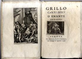 <strong>Grillo. Canti dieci d'Enante Vignajuolo</strong>