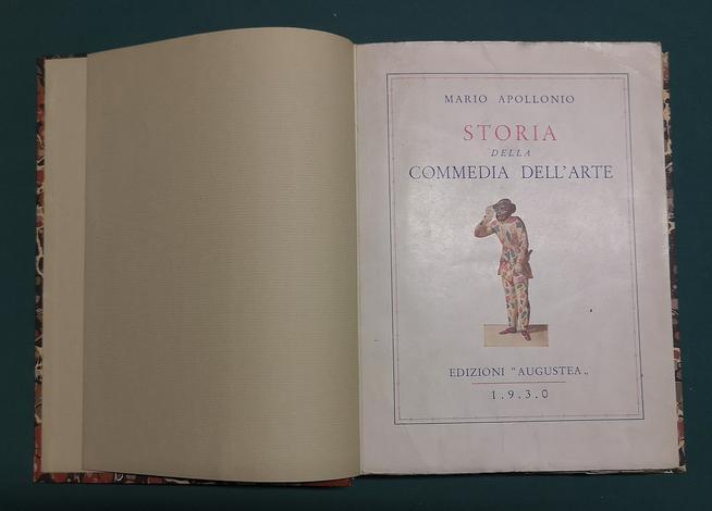 <strong>Storia della Commedia dell'arte.</strong>