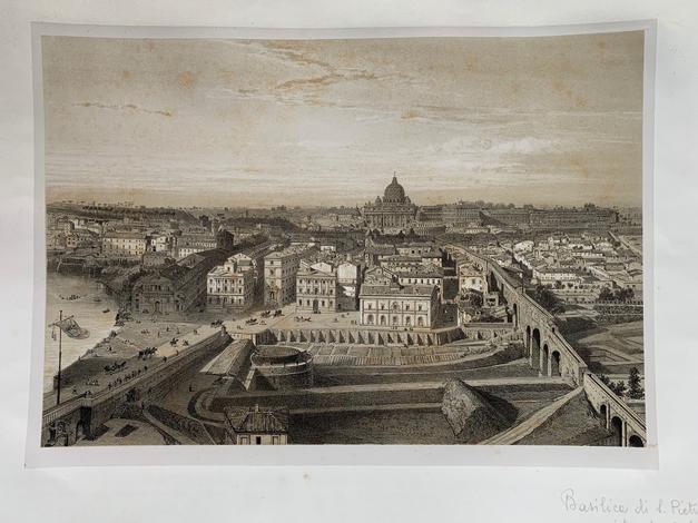 [Copia di ]<strong>Veduta di Roma dall'alto.</strong>