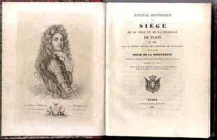Journal historique du siége de la ville et de la citadelle de Turin en 1706