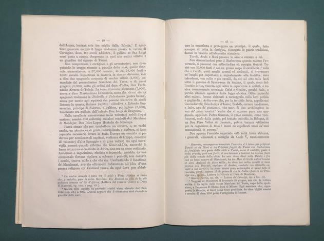 <strong>Tunisi. Spedizione di Carlo V Imperatore. 30 maggio – 17 agosto 1535.</strong> Cenni-Documenti-Regesti.