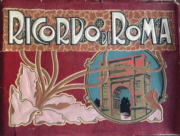 <strong>Ricordo di Roma.</strong>