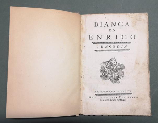<strong>Bianca ed Enrico. Tragedia.</strong>