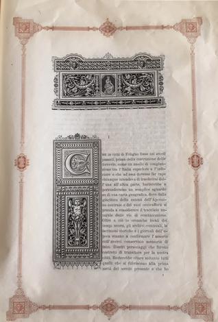 <strong>La stampa nell'Umbria e la R. Tipografia di Feliciano Campitelli di Foligno.</strong>Cenni storici.