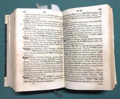 <strong>JOHANNIS BUXTORFI LEXICON HEBRAICUM & CHALDAICUM:</strong> COMPLECTENS OMNES VOCES, TAM PRIMAS QUAM DERIVATAS, QUAE IN SACRIS BIBLIIS. HEBRAEÂ, & EX PARTE CHALDAEÂ LINGUÂ SCRIPTIS...