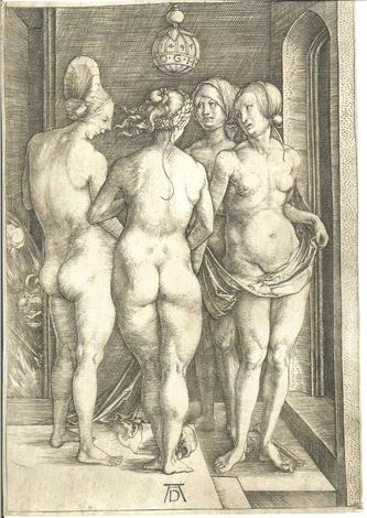 Le quattro streghe -The four Witches. 1497