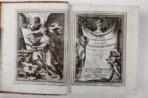 <strong>Vite de' Pittori, Scultori, ed Architetti Genovesi, di Raffaello Soprani.</strong>
