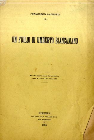 Un figlio di Umberto Biancamano