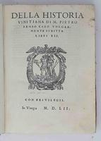 <strong>Della Historia Vinitiana</strong>