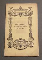 <strong>Il ritorno di Columella da Padova.</strong>