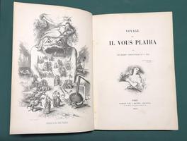 <strong>Voyage où il vous plaira.</strong>Par Tony Johannot, Alfred De Musset et P.-J. Stahl.