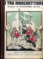 <strong>I Tre Moschettieri. Illustrato da Carlo Nicchio.</strong>