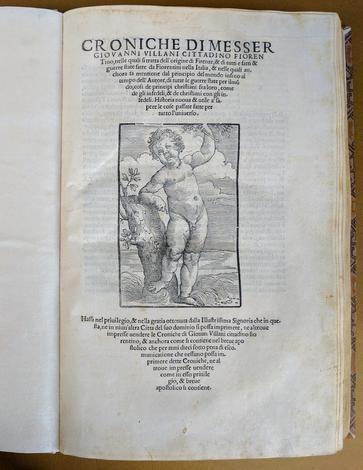 Croniche, nelle quali si tratta dell'Origine di Firenze,