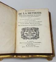 Discours de la Méthode pour bien conduir sa Raison et chercher la verité dans les Sciences. Plus la Dioptrique, les Meteores, la Mechanique, et la Musique, qui sont des essais de cette Methode.