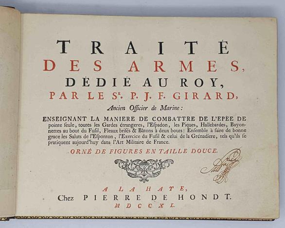 <strong>Traité des Armes, dédié au Roy,</strong>