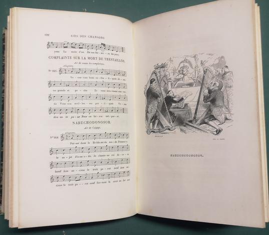<strong>Musique des chansons de P.J. DE BÉRANGER, contenant les airs anciens et modernes les plus utisés</strong>. Quatrième édition, augmentée de la Halevy er M.me Mainvielle-Fodor.
