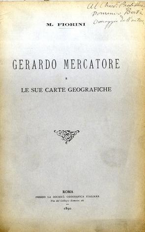 Gerardo Mercatore e le sue carte geografiche